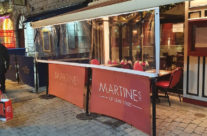 Outdoor Dining at Martines