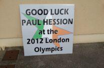 Paul Hession Olympics 2012