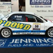Rally Car Graphics & Groundsheet