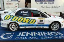 Rally Car Graphics & Groundsheet