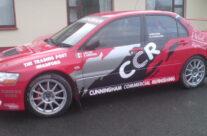 Rally Car signage